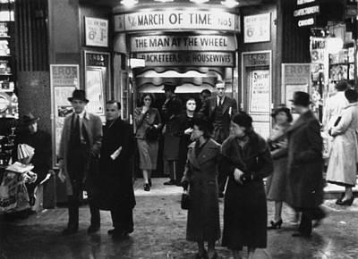 Photograph - Cinemagoers by Felix Man