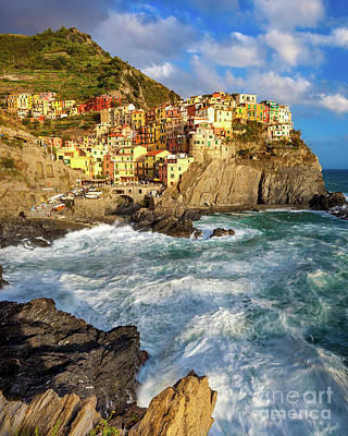 Photograph - Cinque Terre Evening by Brian Jannsen
