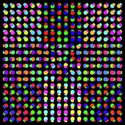 Digital Art - Circle And Square Phi by REVAD David Riley