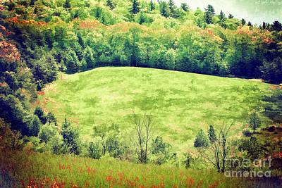 Painting - Circle Of Trees In The Blue Ridge Ap by Dan Carmichael