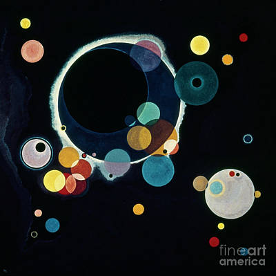 Photograph - Circles, 1926 by Wassily Kandinsky