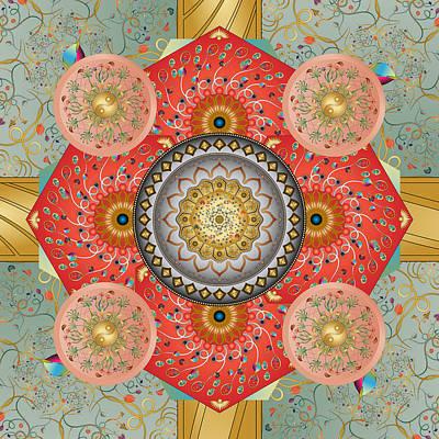 Digital Art - Circumplexical No 3479 by Alan Bennington