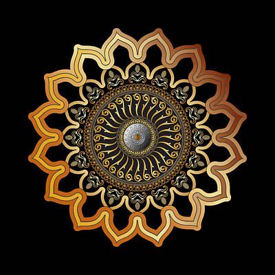 Digital Art - Circumplexical No 3592 by Alan Bennington