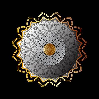 Digital Art - Circumplexical No 3600 by Alan Bennington