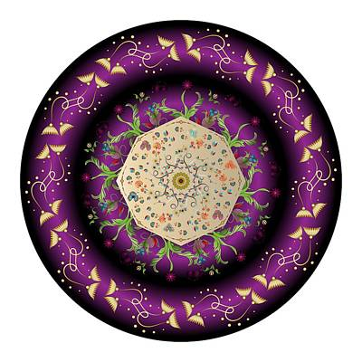 Digital Art - Circumplexical No 3676 by Alan Bennington