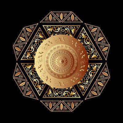 Digital Art - Circumplexical No 3860 by Alan Bennington