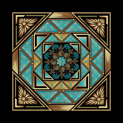 Digital Art - Circumplexical No 3887 by Alan Bennington