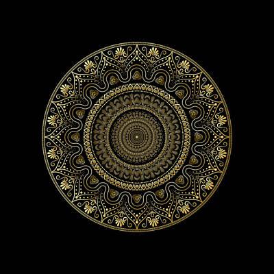 Digital Art - Circumplexical No 3911 by Alan Bennington