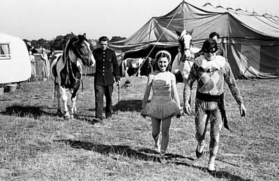 Photograph - Circus Folk by Bert Hardy