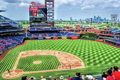 Painting - Citizens Bank Park Philadelphia Phillies by Christopher Arndt