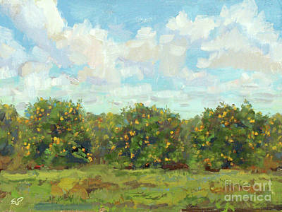 Painting - Citrus Grove by Blair Updike