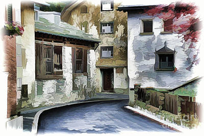 Painting - City A18-114 by Ray Shrewsberry