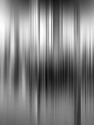 Photograph - City Abstract Black And White by Gill Billington