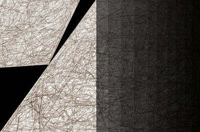 Digital Art - City Abstract Moon 3 by Artist Dot