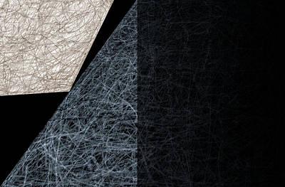 Digital Art - City Abstract Moon 4 by Artist Dot