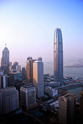 Photograph - City Buildings From Bank Of China Tower by Ray Laskowitz