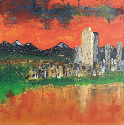 Painting - City Dreams by Nicole Korbe