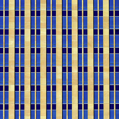 Photograph - City Grid 2 by Stuart Allen