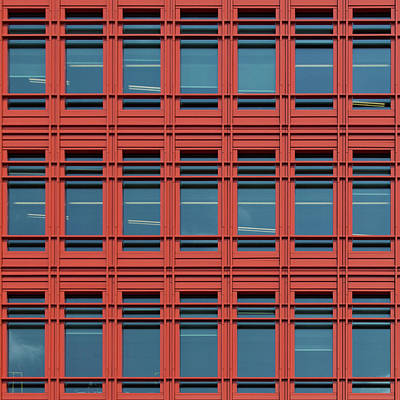 Photograph - City Grids 49 by Stuart Allen