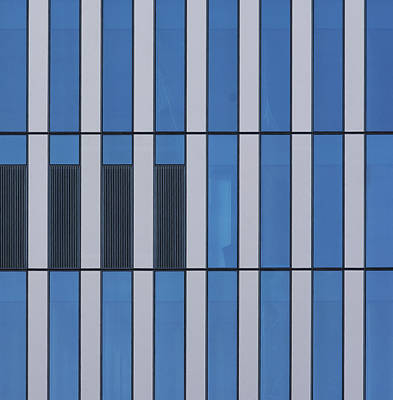 Photograph - City Grids 53 by Stuart Allen