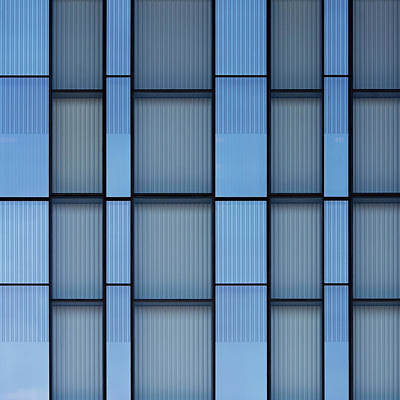 Photograph - City Grids 54 by Stuart Allen