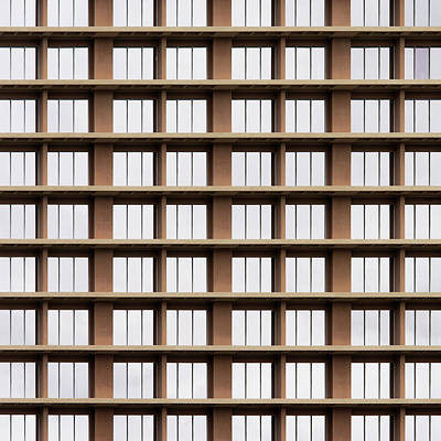 Photograph - City Grids 58 by Stuart Allen