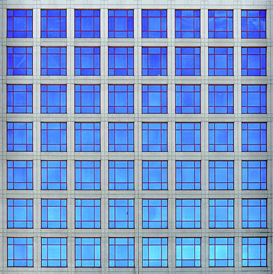 Photograph - City Grids 60 by Stuart Allen