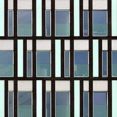 Photograph - City Grids 61 by Stuart Allen