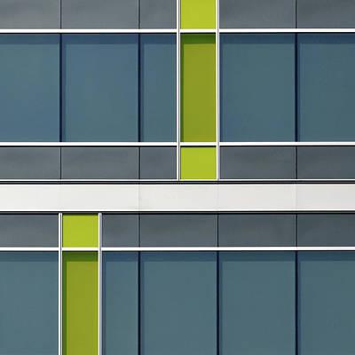 Photograph - City Grids 62 by Stuart Allen