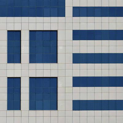 Photograph - City Grids 65 by Stuart Allen