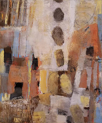 Wall Art - Painting - City by Leslie Rock