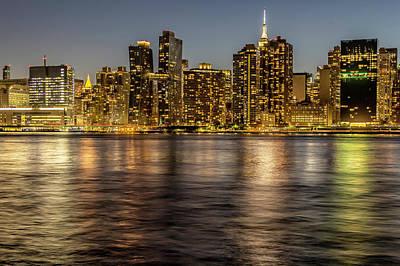 Fleetwood Mac - City Lights Reflected  2350 by Karen Celella