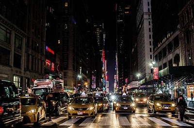 Photograph - City Lights by Traci Asaurus