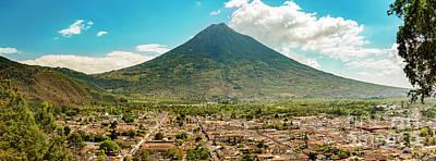 Landmarks Royalty Free Images - City Of Antigua Guatemala Royalty-Free Image by Tim Hester