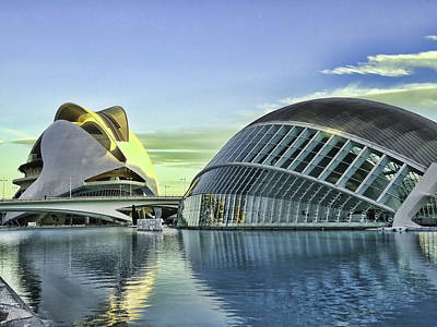 Valentines Day - City of Arts and Sciences  # 19 - Valencia by Allen Beatty