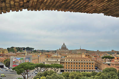 Photograph - City Of Rome by JAMART Photography