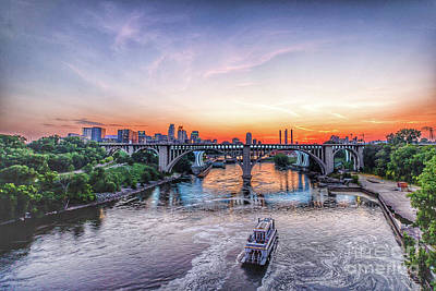 Photograph - City on the Mississippi by Habashy Photography