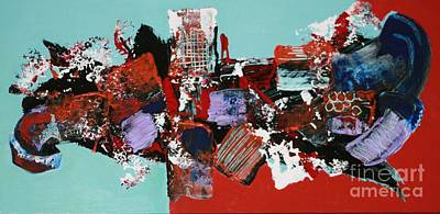 Painting - City Series #3 by Jean Clarke