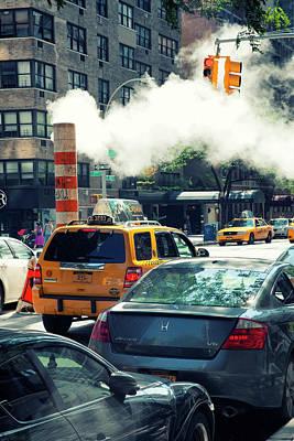 Photograph - City Steam by Karol Livote