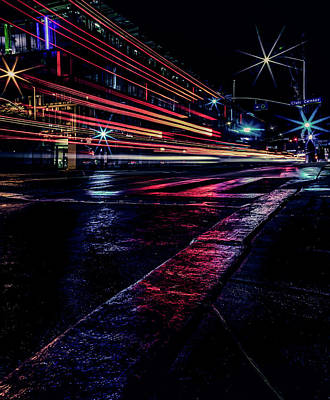 Photograph - City Streaks by Ant Pruitt