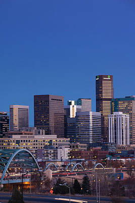 Denver Skyline Photograph - City View, Denver, Colorado, Usa by Danita Delimont