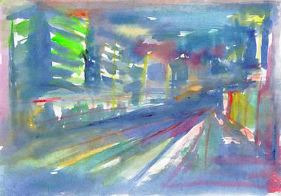 Painting - Cityscape 2 by Dobrotsvet Art