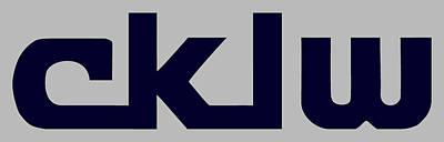 Digital Art - Cklw Mid-70's Logo by Big8Radio