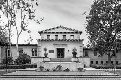 Photograph - Claremont Graduate University Harper Hall by University Icons