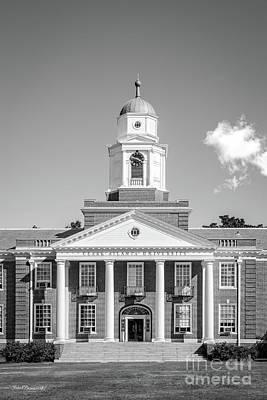 Photograph - Clark Atlanta University Harkness Hall by University Icons