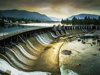 Photograph - Clark Fort Dam by David Heilman