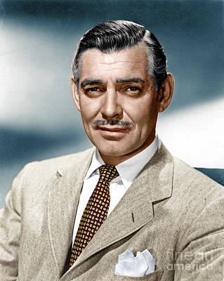 Photograph - Clark Gable by Granger