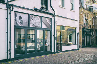 Photograph - Classic Car Showroom London by Tim Gainey
