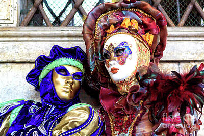 Photograph - Classic Carnevale Di Venezia 2009 by John Rizzuto