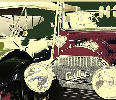 Classic Cars 10 Art Print
